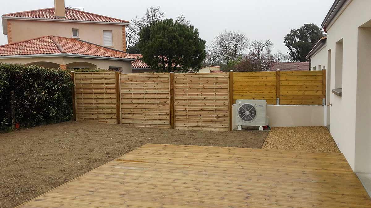 Terrasse bois autoclave